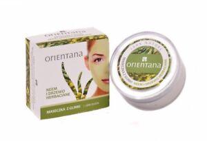 ORIENTANA maseczka z glinki neem i drzewo herbaciane/Clay mask neem and tea tree