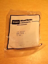 NEW Lawn Mower Part Toro 73-4151 NOS Lawnboy Switch *FREE SHIPPING*