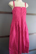 Cotton Dress Sz 16 Pink Empire Waist Seersucker Back by J.Taylor
