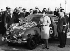 Pat Moss Carlsson. Saab 96. Monte Carlo Rally 1964. M208