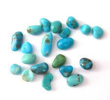 20 pcs Turquoise nuggets LOT Castle Dome Natural polished specimen Arizona Rough