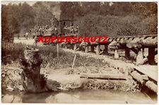 schöne alte original AK - Schmalspurbahn, Kleinbahn, Ersatzbahn, Feldbahn - 1915