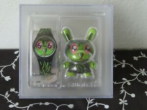 Kid Robot Swatch Watch GB252 Jeremyville New In Box  - Extremely Rare!