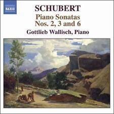 Schubert: Piano Sonatas Nos. 2, 3 & 6, New Music