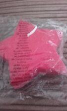avon red sponge star shape
