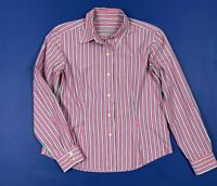 Barbour camicia donna usato camicetta a righe M  woman shirt used strisce T5561