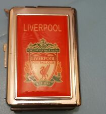 Liverpool  double   Ejection Cigarette Lighter Case Windproof Jet Flame