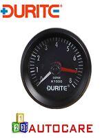 Durite 0-523-20 12V Illuminated Tachometer - 0-8000RPM 52mm
