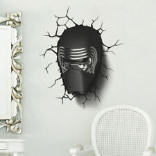 3D Star Wars KYLO REN Wall  Art Sticker Decal Vinyl Graphic Boys Bedroom NEW