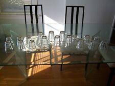 richmond 18 piece paul revere crystal glassware set of 18pcs
