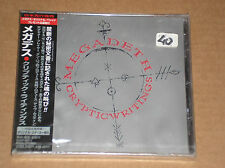 MEGADETH - CRYPTIC WRITINGS - CD JAPAN SIGILLATO (SEALED)