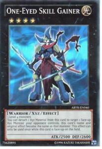 YUGIOH Card One-Eyed Skill Gainer Super Rare ABYR-EN040 1st Editon