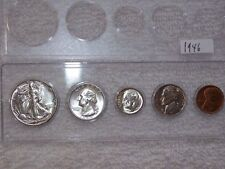 1946-P Choice Uncirculated to GEM BU U.S. Coins Silver Mint State Set-RARE!!!!