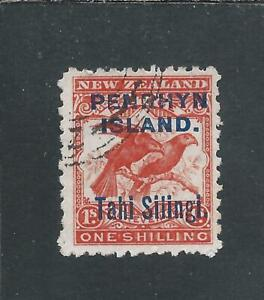 COOK IS/PENRHYN 1903 1s ORANGE-RED FU SG 16a CAT £42