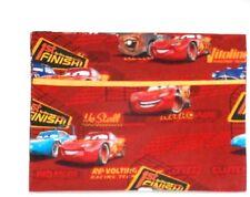 Pixar Cars Toddler Pillowcase on Red Cotton #Pc5 New Handmade