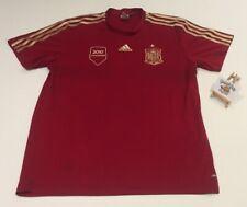 España Adidas Jersey Campeones Copa del Mundo 2010 Home Jersey Camisa XL Rara Vintage