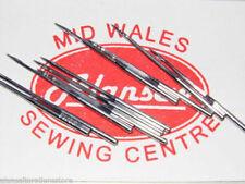 10 x 134-35 160's (23) jauge DPx35LR schmetz cuir aiguilles pour machines à coudre