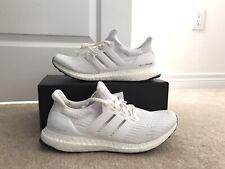 Adidas Ultra Boost 4.0 Triple White Size 8.5 Brand New (BB6168)