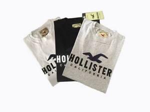 Hollister -ORGINAL-CREW-NECK-SHORT-SLEEVE