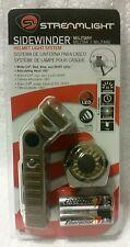STREAMLIGHT 14022 Sidewinder Military Light System Flashlight W/Helmet Mount NEW