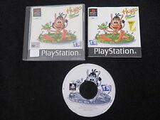 PS1 : HUGO : FROG FIGHTER - Completo, ITA ! Compatibile PS2 e PS3