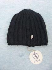 6511272e09df8 ... Taille uniqueStyle: Bonnet. AIGLE Bonnet Femme - Modèle GIANA Noir -  Laine
