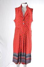 Reborn Womens XL Sleeveless Dress Stretch Jersey Knit Skater Sundress  (B)  NWT