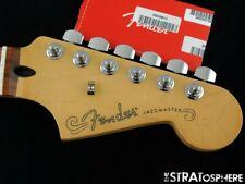"2021 Fender Player Jazzmaster NECK + TUNERS 9.5"" Radius C-Shape Guitar Pau Ferro"