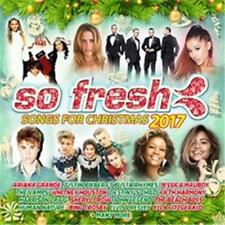 SO FRESH Songs For Christmas 2017 VARIOUS ARTISTS 2 CD NEW
