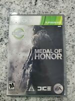 Medal of Honor  (Microsoft Xbox 360, 2010) GAME DISC & CASE