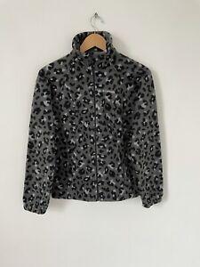 Womens Columbia Fleece Camo Camouflage Full Zip Jacket Size XS