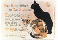 CPP099 CARTE POSTALE publicité A LA BODINIERE par Steinlen - CHAT