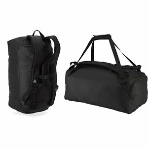 Reebok Active Enhanced Convertible Combination of sports bag and backpack black