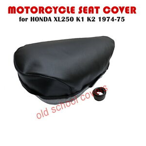 MOTORCYCLE SEAT COVER will fit XL250 XL 250 K1 K2 HONDA 1974 1975