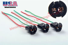 "3PCS GM Instrument Panel Lights bulb 1/2"" Socket Pigtail Wiring Harness 194 T10"