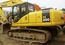 Komatsu PC200 200LC-6 200LC-6HYPER GX Hydraulic excavator Engine Service Manual