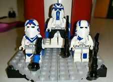 Lego Star Wars 501st Blizzard Force Snowtroopers Capt. Rex, Arc Echo and Fives