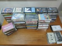 Lot of 85 Cassette Tapes Gospel, Blues Rock Random Tapes!!