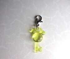 New Disney 's Mickey Mouse - Clip on Yellow 3D Key Charm for Mother of New Baby