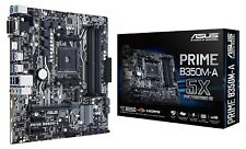 Asus Prime B350M-A AMD Ryzen Socket AM4 mATX/ITX Motherboard - Perfect Condition