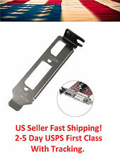 Low Profile bracket HDMI DVI for Half Height Graphics Video Cards