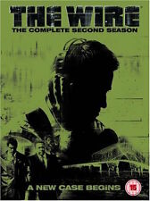 The Wire - Series 2 - Complete (DVD, 2005, 5-Disc Set, Box Set) FREE SHIPPING