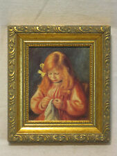 vintage Art Institute of Chicago Pierre Auguste Renoir Artist's Son Jean framed