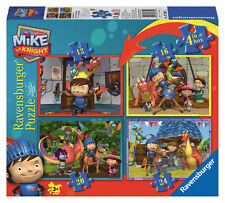 MIKE THE KNIGHT 4 IN A BOX 12/16/20/24 PIECE RAVENSBURGER JIGSAW