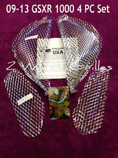 2014 SUZUKI GSXR GIXXER 1000 CHROME FAIRING GRILLS SCREENS VENTS MESH GRATES