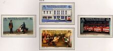 Guernsey 1979 10th Anniv of Guernsey Post Office SG 207-210 MNH
