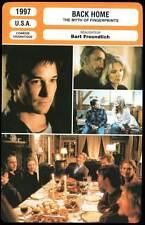 BACK HOME - Moore,Scheider,Wyle (Fiche Cinéma) 1997 - The Myth of Fingerprints