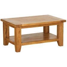 GENUINE SOLID OAK FURNITURE COFFEE TABLE LOUNGE TABLE CHUNKY OAK