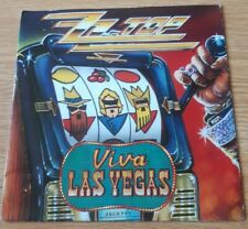 """ZZ Top Viva Las Vegas 7"""" Single."""