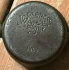 Vintage Wagner Ware Sidney O Cast IroN Minature Pot